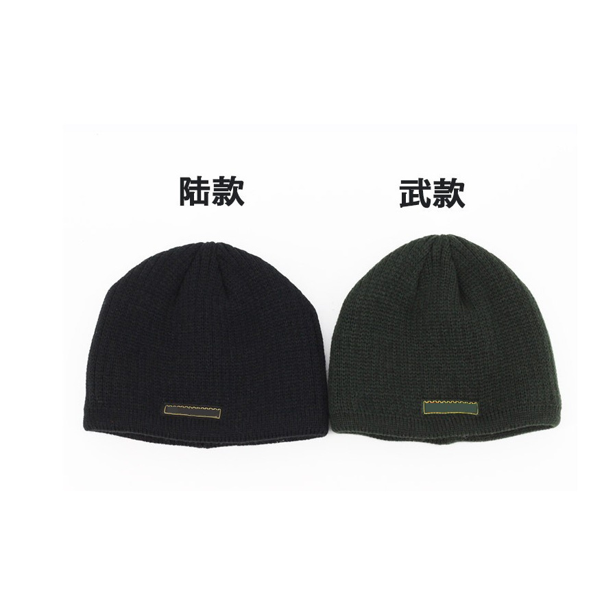 秋冬季体能帽防寒帽户外防冻羊毛头套针织帽毛线帽训练帽加绒保暖
