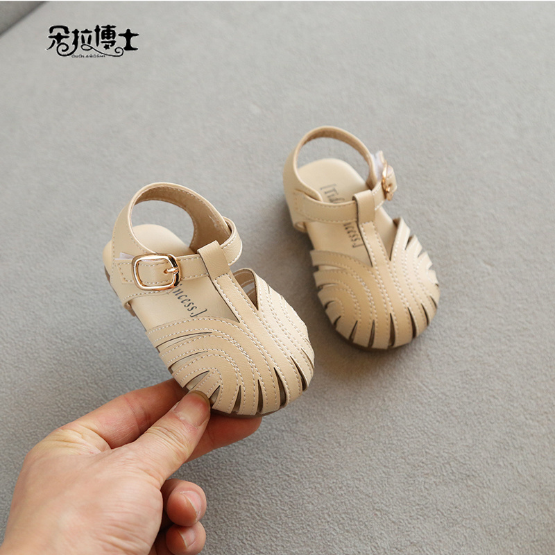 宝宝公主鞋小香风1-3岁2春夏款小皮鞋0女童婴幼儿软底夏季凉鞋子