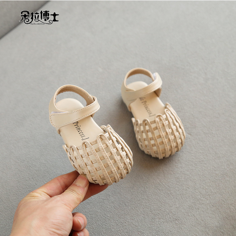 女童皮鞋公主鞋1-3岁春夏季新款0一2宝宝凉鞋小童幼学步婴儿鞋子