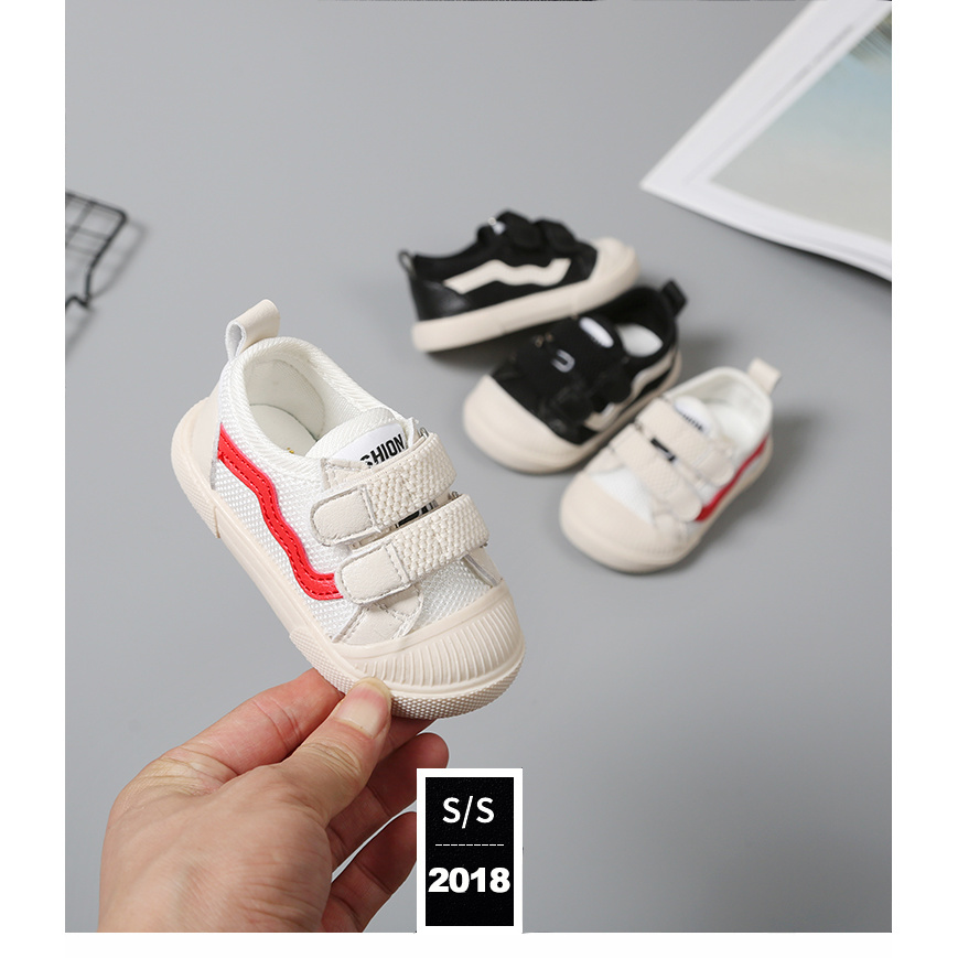 宝宝小白鞋女1-3岁软底儿童夏透气婴幼儿0一2秋网男运动学步鞋子