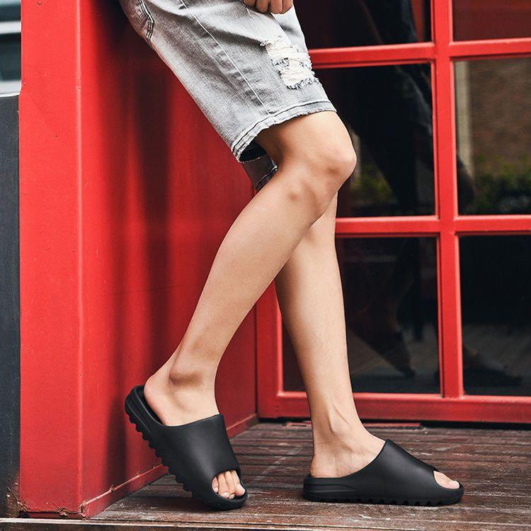 网红椰子拖鞋女潮流夏季外出厚底个性居家新款室外男士凉鞋夏外穿