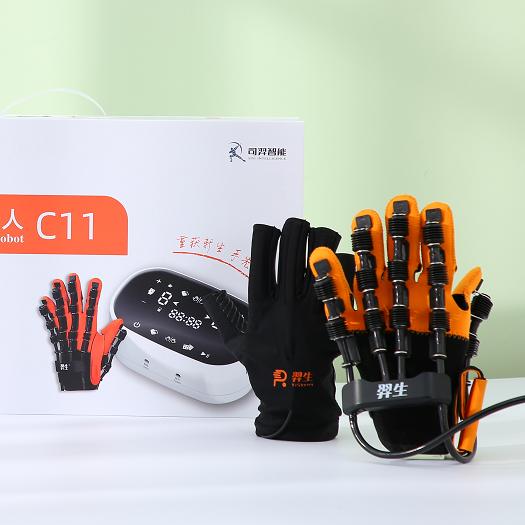 羿生手功能康复机器人中风偏瘫神经双手镜像手套手部康复训练器材