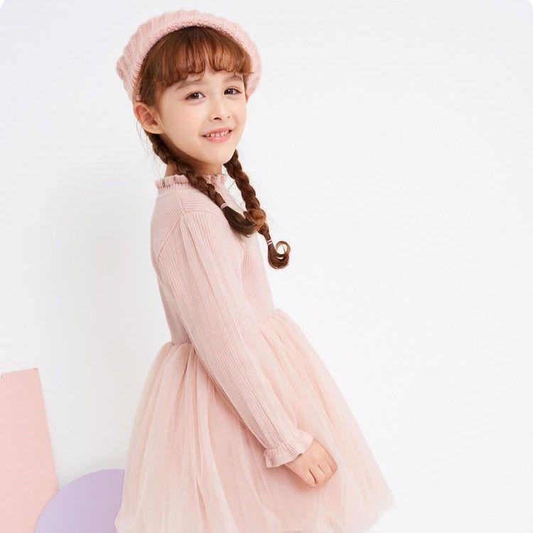 88892-巴拉巴拉女童连衣裙宝宝秋冬2021新款裙子儿童公主裙-详情图