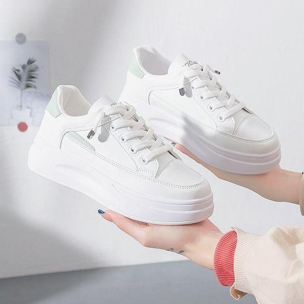 厚底小白鞋女新款女鞋春夏韩版百搭板鞋女