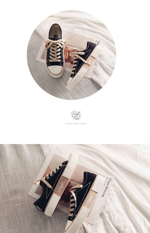 饼干帆布鞋女鞋子2020冬季新款韩版百搭休闲保暖加绒学生原宿板鞋