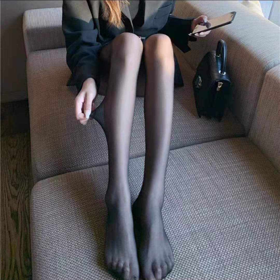 jk黑丝袜女ins新款2021爆款防勾丝春秋薄款光腿神器黑色夏季菠萝