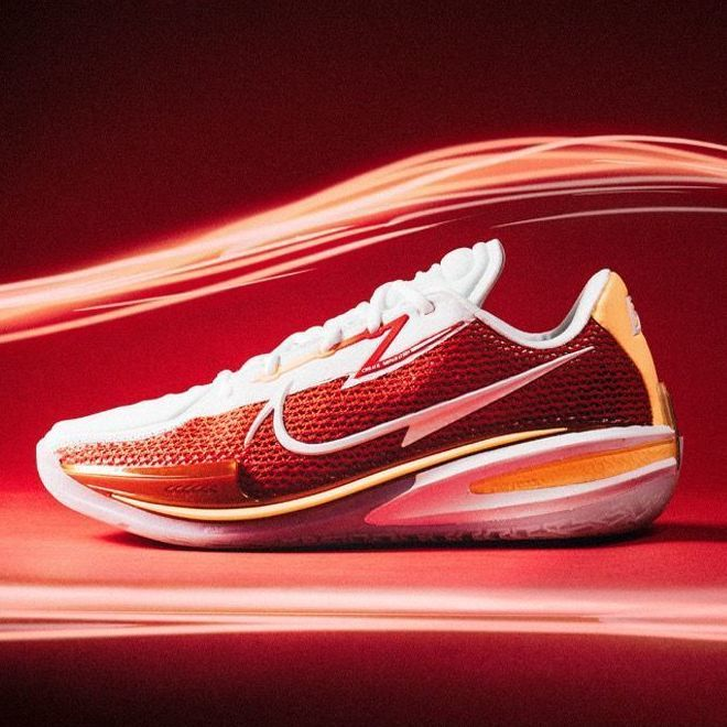 75857-纯原Air Zoom GT Cut 白红黄实战篮球鞋男女鞋气垫鞋 CZ0176-100-详情图