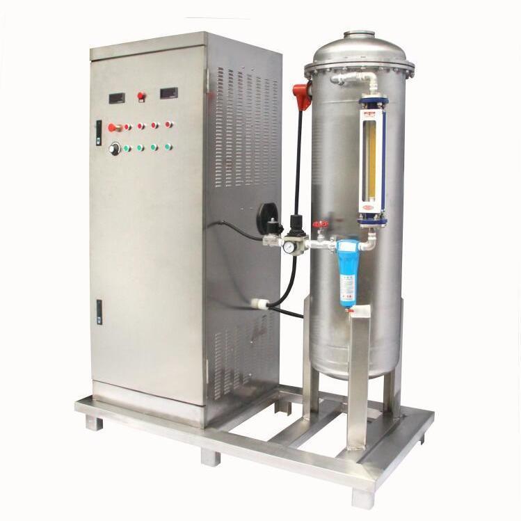 大型臭氧发生器1kg污水脱色废气除臭车间净化全套设备1000克