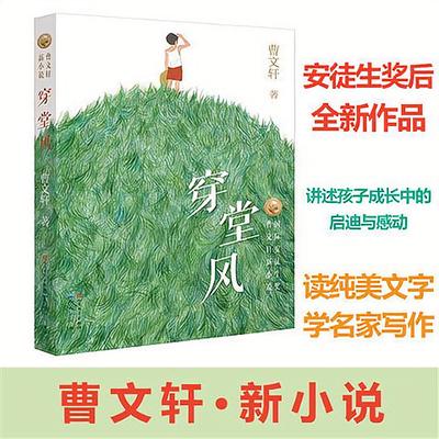 曹文轩新作穿堂风 国际安徒生奖曹文轩系列儿童文学