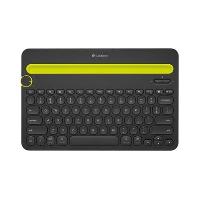 拼多多百亿补贴:logitech 罗技 K480 79键 无线蓝牙键盘107元包邮(需用券)
